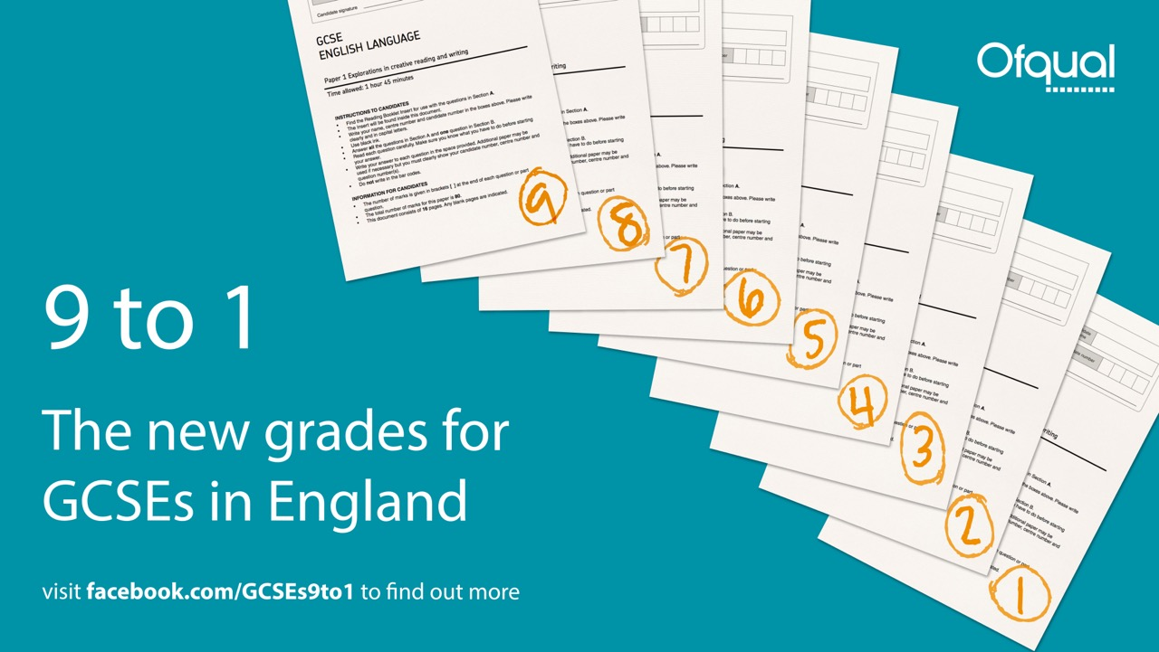 5 questions and concerns answered about new 9 to1 GCSE grading - The